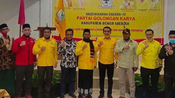Eksportir Kopi Gayo M Amin Terpilih Aklamasi Nahkodai Golkar Bener Meriah