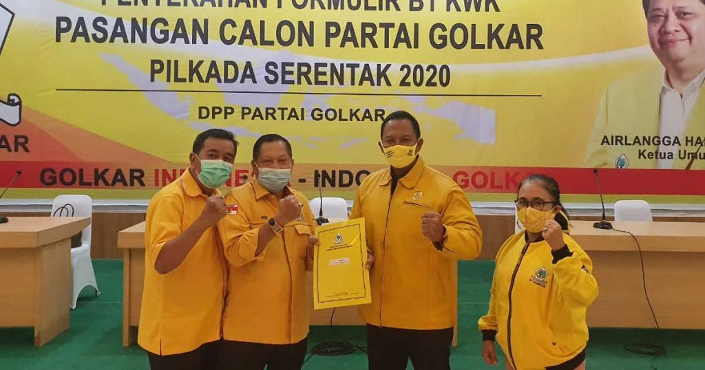 Setelah PKS, Golkar Juga Resmi Dukung Gusti Iskandar Sukma-Iwansyah di Pilkada Kota Banjarbaru