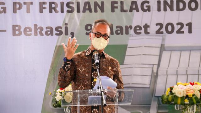 Menperin Agus Gumiwang Sambut Baik Rencana Frisian Flag Bangun Pabrik Baru Senilai Rp,3,8 Triliun