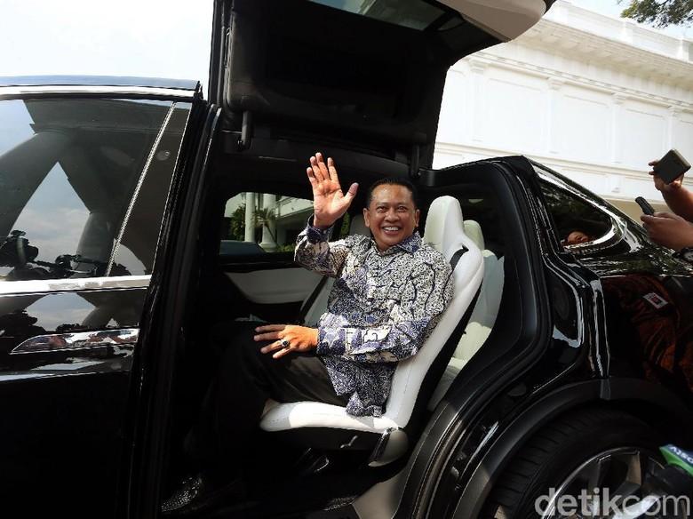 Diskusi Hampir 2 Jam, Jokowi Titipi Bamsoet Agar Golkar Tetap Utuh dan Tak Terpecah Lagi