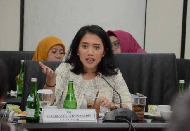 Lesatkan Kinerja UMKM, Puteri Komarudin Minta Pemerintah Fokus Perkuat Kredit Ultra Mikro