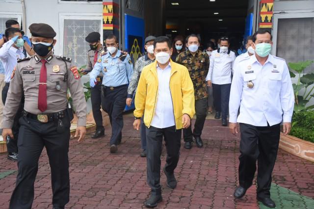 Adies Kadir Apresiasi Lapas Kelas I Bandar Lampung Beri Pendidikan Deradikalisasi untuk Para Napi