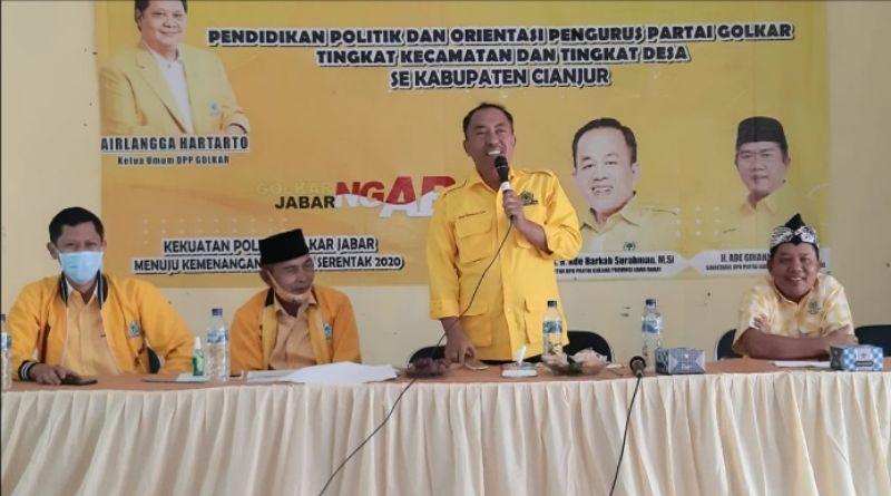 Yod Mintaraga Ungkap Saba Desa Golkar Jawa Barat Ngabret Sasar 7.000 PK dan PL