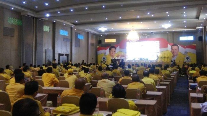 Targetkan 2 Juta Pengurus Aktif, Airlangga Hartarto: Golkar Akan Jadi Partai Nomor Satu di Sumut