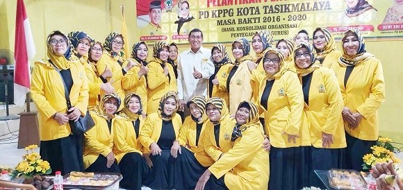 Yusuf Minta KPPG Jadi Motor Penggerak Kader Perempuan di Tasikmalaya