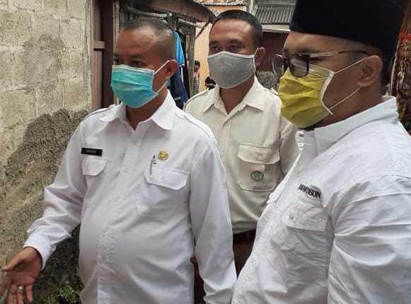 Zainul Miftah Sambangi Rumah Muhammad Fajar, Pemuda Penderita Kanker Bibir di Teluk Pucung