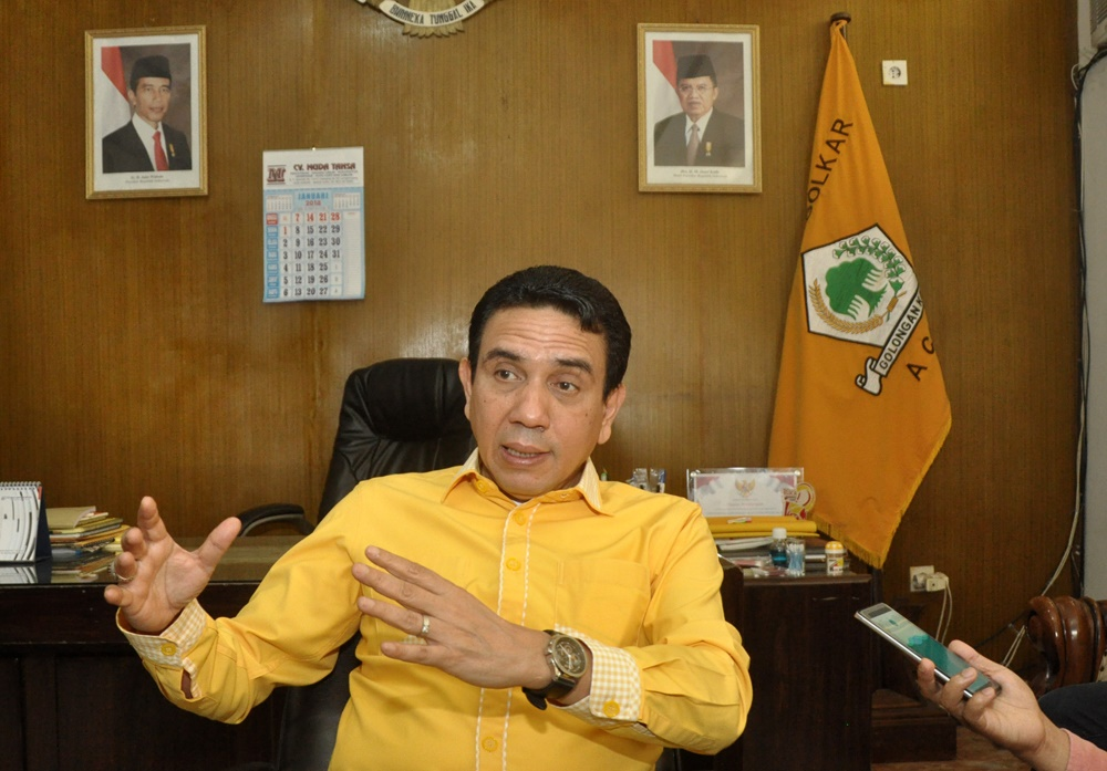TM Nurlif Ungkap Penyusunan Pengurus Golkar Aceh Tanpa Rasa Dendam dan Destruktif