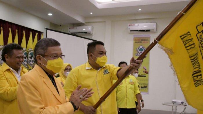 Terpilih Aklamasi Pimpin Golkar Bantaeng, Menantu Nurdin Abdullah Didorong Maju Pilkada 2024