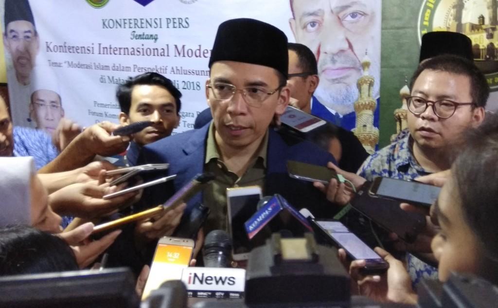 TGB Zainul Majdi Ajak Pilih Pemimpin Islami Yang Mampu Kendalikan Emosi
