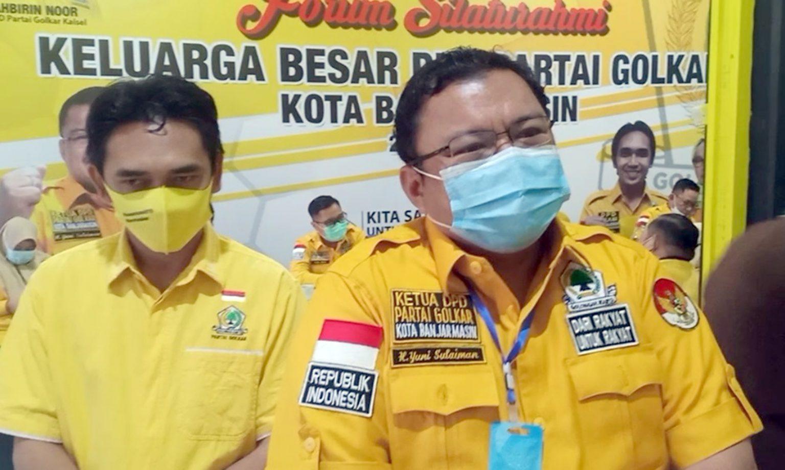 Rapat Pleno Golkar Banjarmasin Pilih Calon Wakil Ketua DPRD Pengganti Ananda, Ini 3 Namanya