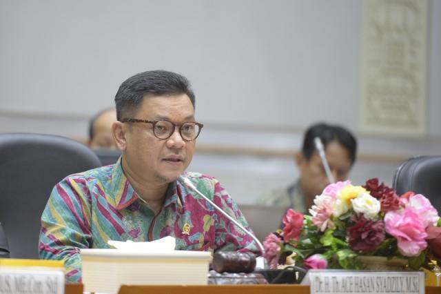 Ace Hasan Dorong Pemerintah Tes COVID-19 Secara Masif