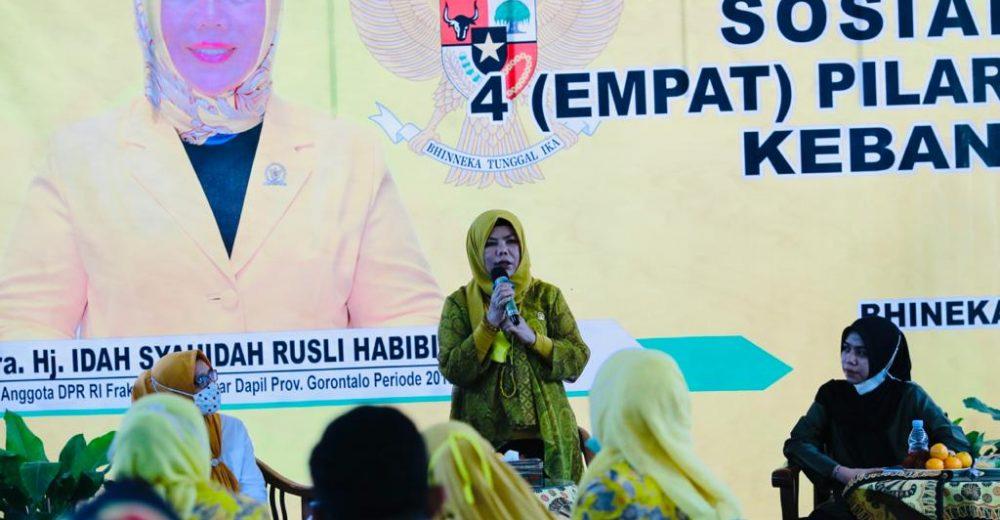 Idah Syahidah: Implementasi Nilai-Nilai Pancasila Cegah Terorisme dan Radikalisme