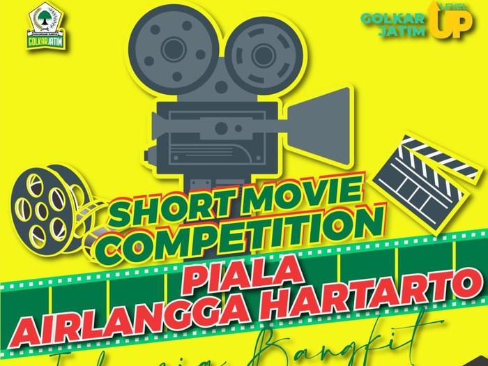 Golkar Jatim Gelar Kompetisi Film Pendek Piala Airlangga Dengan Hadiah Total Rp.50 Juta
