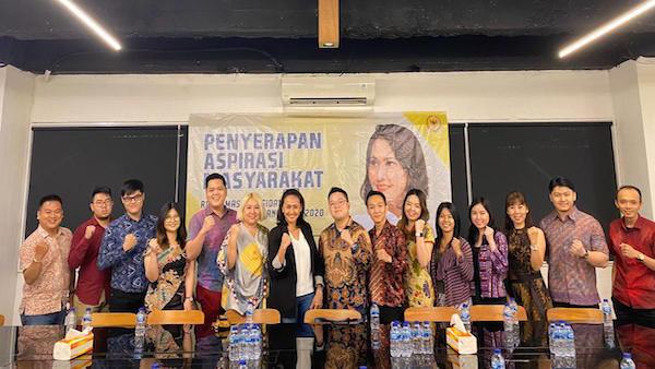 Dialog Dengan Christina Aryani, IPTI Jakarta Dorong Pengesahan RUU Perlindungan Data Pribadi