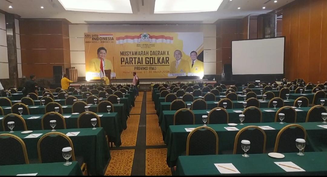 Pengamat Nilai Penundaan Musda Golkar Riau Sarat Politis