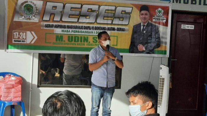 Reses di Berau, Muhammad Udin Serap Aspirasi Masyarakat Tanjung Redeb Terkait Pandemi