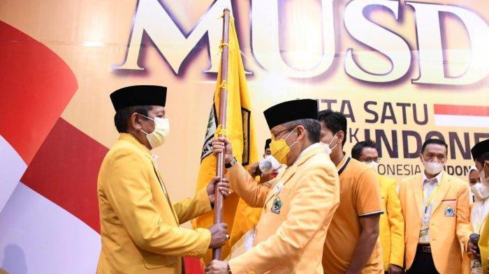 Bupati Kaswadi Razak Kembali Terpilih Pimpin Golkar Soppeng