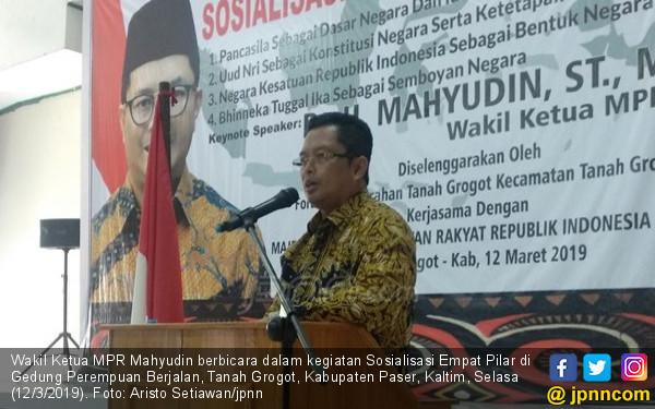 Mahyudin Nilai Budaya Gotong Royong Indonesia Mulai Pudar