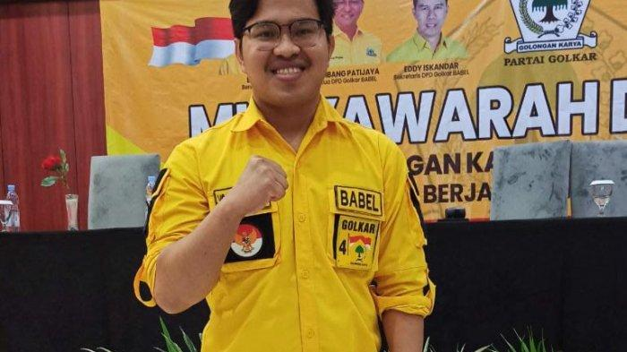 Legislator Muda DPRD Babel, Yoga Nursiwan Terpilih Pimpin Golkar Belitung