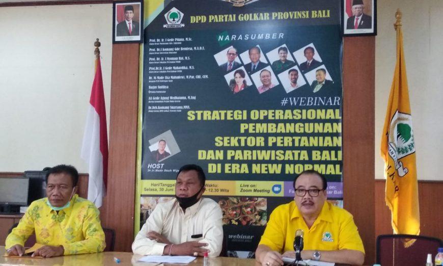 Gelar Bakti Sosial Donor Darah 12 Juli Mendatang, Golkar Bali Siap Sumbangkan Seribu Kantong Darah