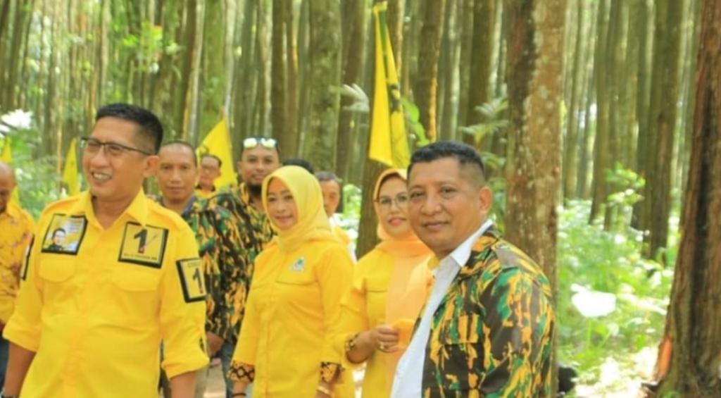 Golkar Lumajang Ingin Masyarakat Bisa Rasakan Dampak Ekonomi Tanpa Merusak Hutan