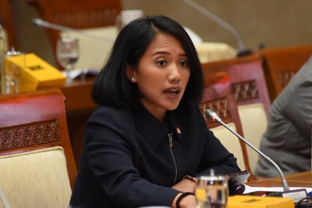 Puteri Komarudin Imbau Pemerintah Tingkatkan Efektivitas Pengelolaan Utang Negara