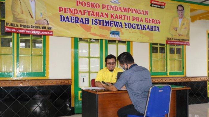 Golkar DIY Buka Posko Pendampingan Pendaftaran Kartu Prakerja dan Pengaduan Masyarakat