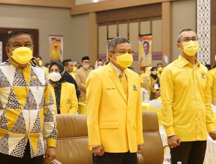 Prestasinya Spesial di Mata Airlangga, Fahsar Padjalangi Pimpin Golkar Bone 3 Periode