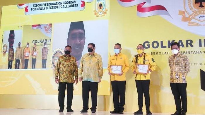 Wakil Walikota Pasuruan Terpilih, Adi Wibowo Jadi The Best Student Golkar Institute
