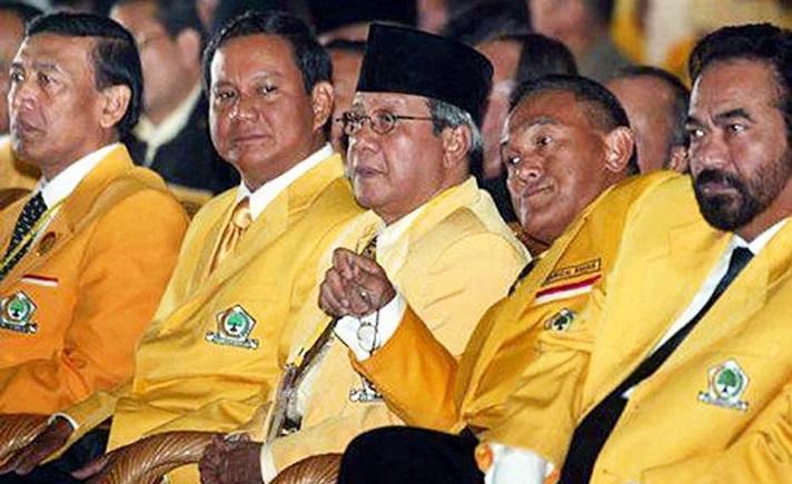 7 Mantan Tokoh Golkar Yang Mendirikan Partai Politik Sendiri