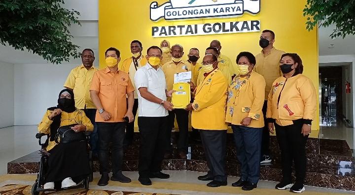 Sekjen DPP Lodewijk Paulus Yakin Golkar Di Bawah Lamberthus Jitmau Akan Jadi Partai Besar di Papua Barat