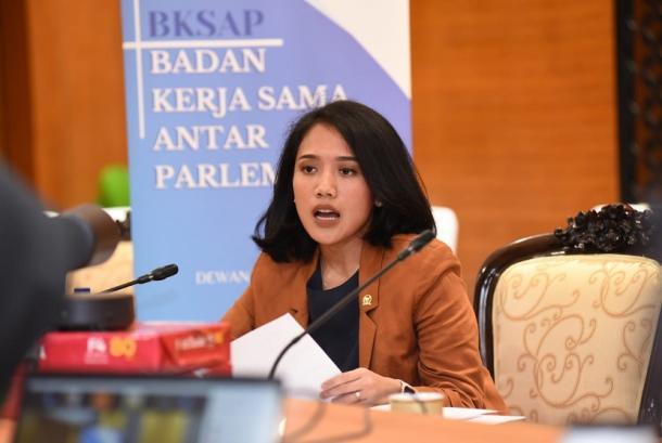 Puteri Komarudin Dorong Penguatan Kerja Sama Antar Parlemen Indonesia-Tiongkok