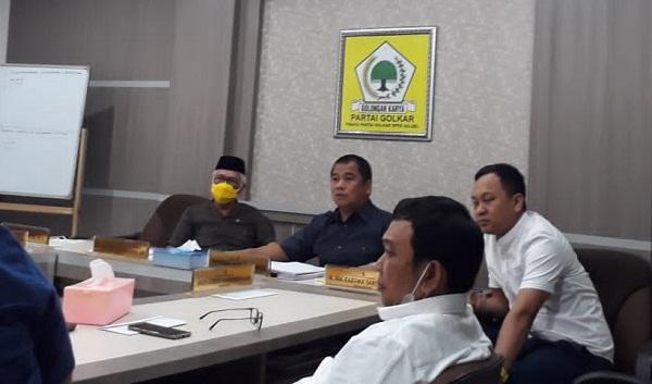 Fraksi Golkar Desak Pemprov Sulsel Tuntaskan Pembangunan Stadion Mattoanging dan Masjid 99 Kubah
