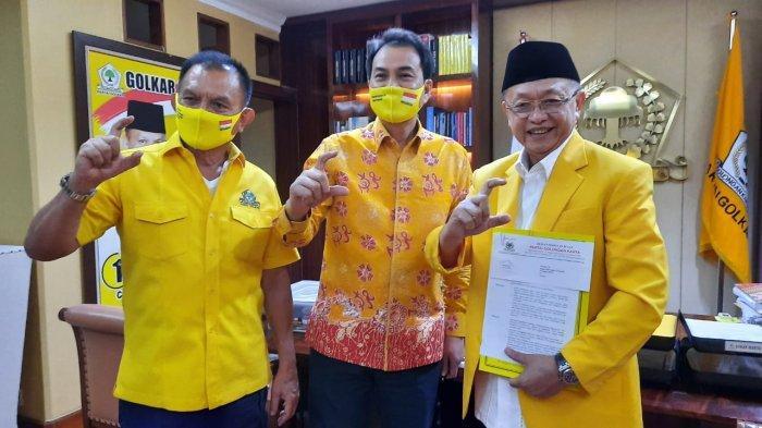 Kantongi Rekomendasi DPP Golkar, Cek Endra Coba Satukan Golkar dan PDIP