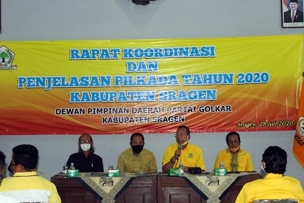 Golkar Alihkan Dukungan Untuk Yuni-Suroto di Pilkada Sragen, Sukiman-Iriyanto Kecewa Berat