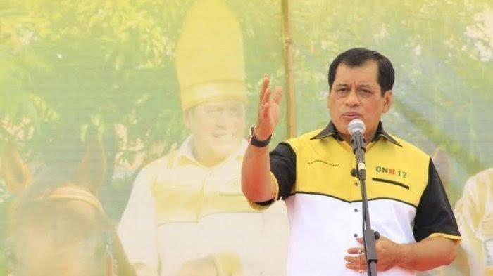 Nurdin Halid Pastikan Golkar Dukung Irman Yasin Limpo-Zunnun Halid di Pilwali Makassar