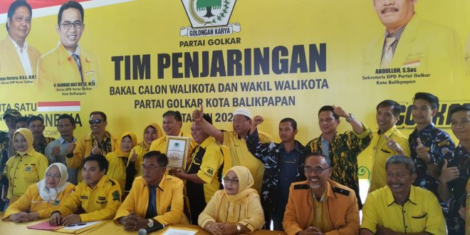 Golkar Kota Balikpapan Jaring 23 Nama Calon Untuk Pilkada 2020