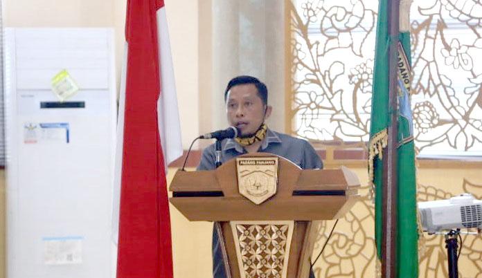 Novi Hendri Dt Bagindo Saidi Apresiasi Kinerja Pemko Padang Panjang Tangani COVID-19