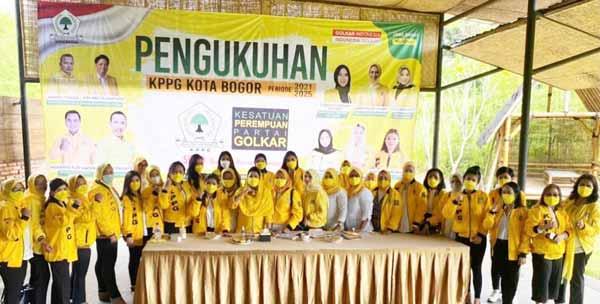 Karina Sanger Bersama KPPG Kota Bogor Siap Tingkatkan Elektabilitas Partai di Saat Pandemi