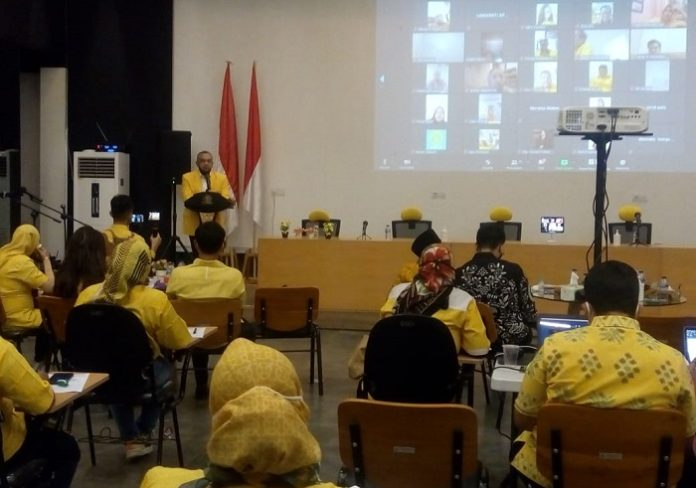 Ketum Airlangga Minta Kader Golkar DKI Jakarta Kampanye Kebaikan Tanpa Menunggu Pilkada