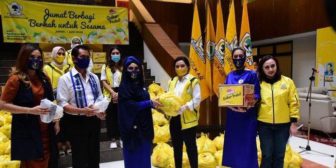 Bersama Yanti Airlangga, IIPG Luncurkan Program Jumat Berbagi Untuk Sesama