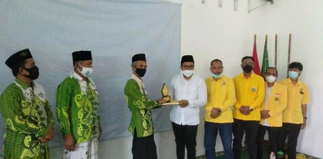 Sambangi NU Karanganyar, Ilyas Akbar Almadani: Nyuwun Petuah Kyai dan Pererat Silaturahmi