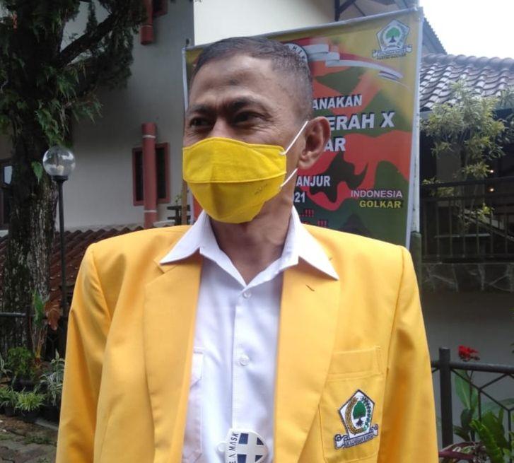 TB Mulyana Syahrudin Kembali Terpilih Aklamasi Pimpin Golkar Kabupaten Cianjur