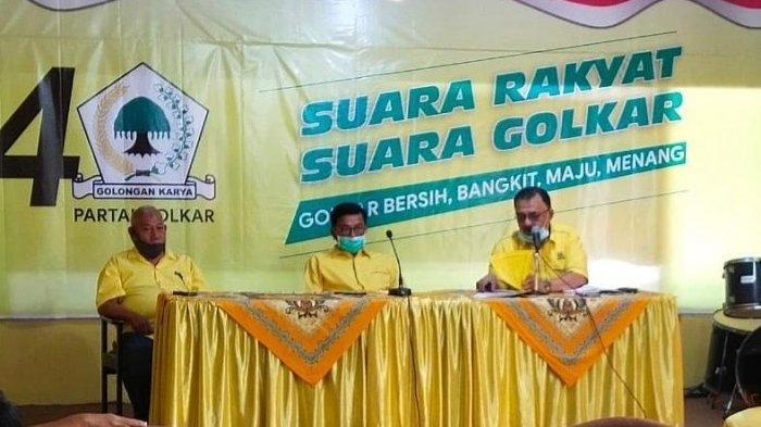 Didampingi Desra Ediwan dan Erick Hariyona, Khairunas Resmi Pimpin Golkar Sumatera Barat