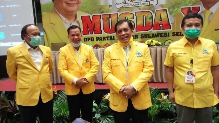 Negosiator Ulung, Nurdin Halid Lahirkan Ketua Baru Golkar Sulsel Hasil Mufakat Dalam Waktu 3 Jam