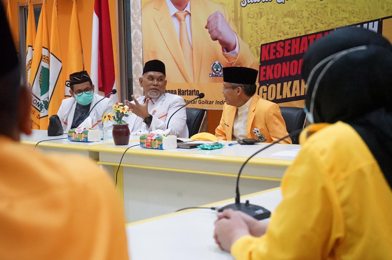 Sambangi Kantor Golkar Sulsel, PKS Jajaki Koalisi di Pemilu 2024