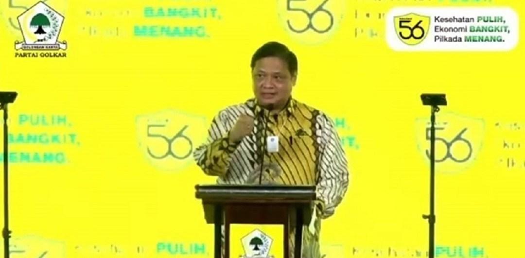 Airlangga Hartarto Ungkap Golkar Jadi Motor Penggerak Suksesnya Jokowi-Ma'ruf Amin