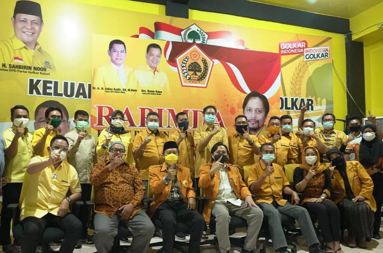 Hasnuryadi Tegaskan Ormas MKGR Kalsel Dukung Adies Kadir Jadi Ketum dan Airlangga Jadi Capres