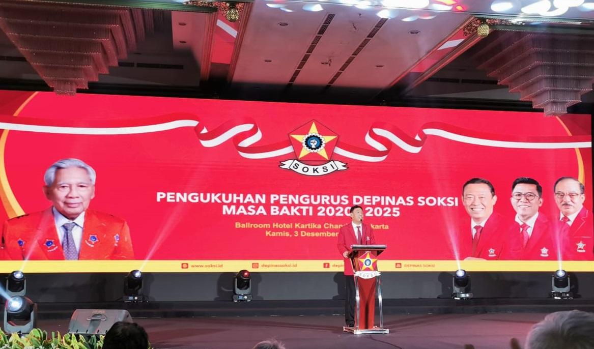 Ahmadi Noor Supit Tegaskan SOKSI Siap Menangkan Golkar di Pilkada 2020 dan Pileg 2024