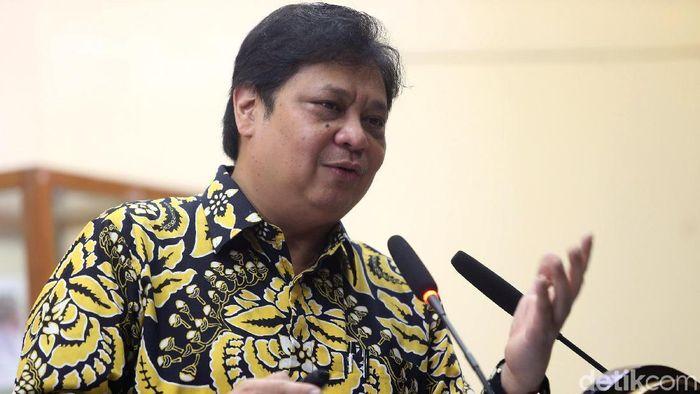 Menko Airlangga Hartarto Sebut Buruh Dukung Omnibus Law Cipta Lapangan Kerja